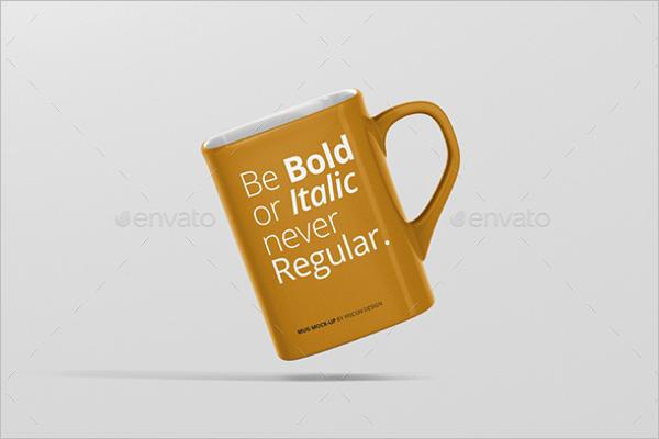 Coffee Cup Mockup Illustrator