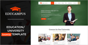 Collage Joomla Template