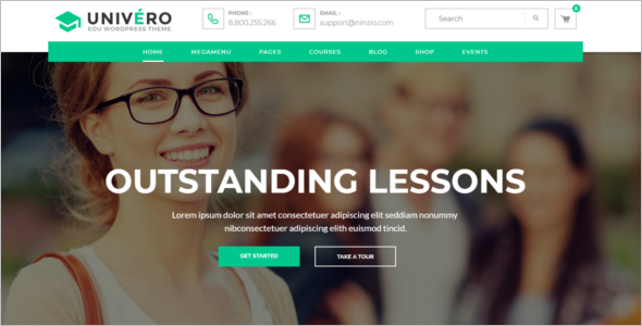 College Education HTML5 Template