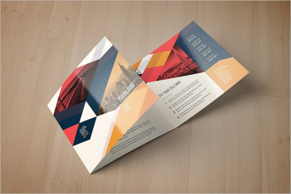 ColorfulCorelDraw Brochure Template