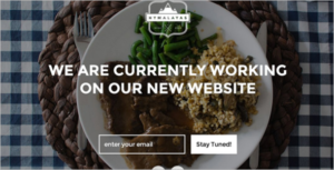 Coming Soon HTML 5 Website Template