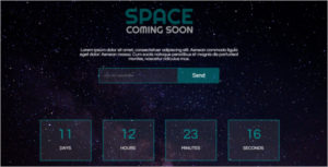 Coming Soon HTML5 Template 2018