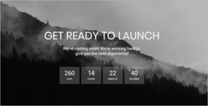 Coming Soon HTML5 Template Bootstrap