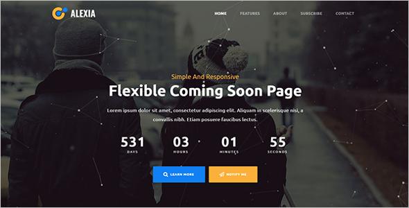 Coming Soon Website WordPress Theme