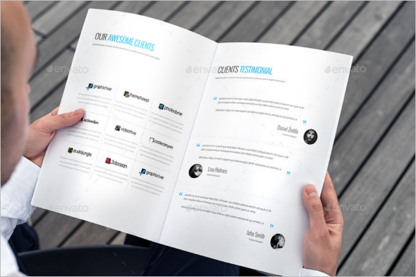 Company Proposal Report Template