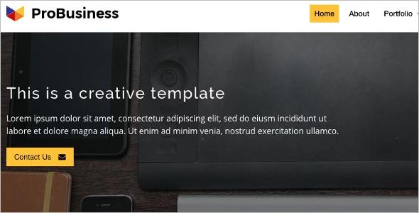 Company Website Template