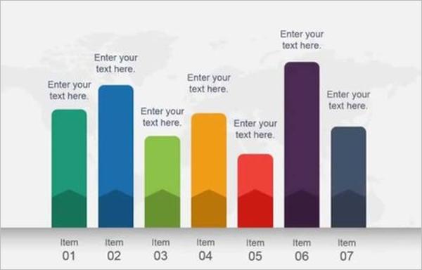 Comparison Bar Chart Template