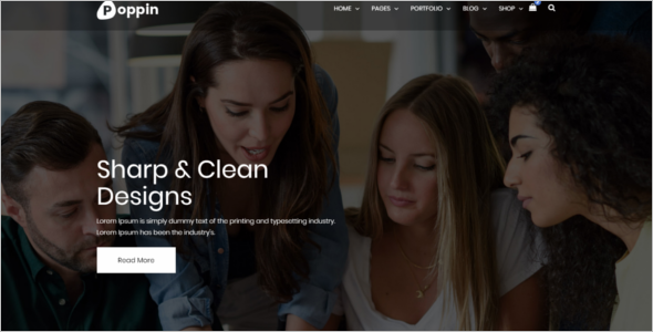 Consulting Business HTML5 Template