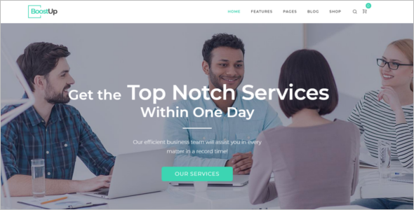 Consulting Corporate HTML5 Templates