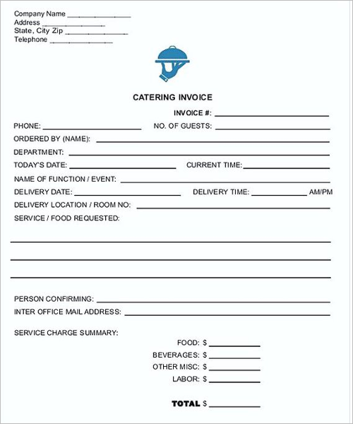 Contractor Invoice Format