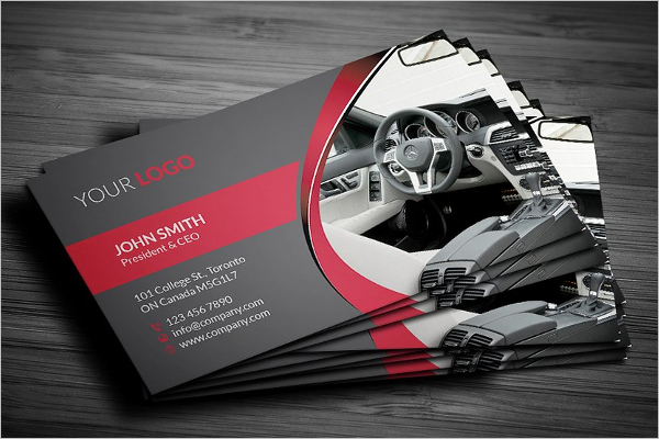 Cool Service Business Card Template