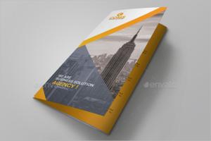 CorelDraw Brochure PSD Design
