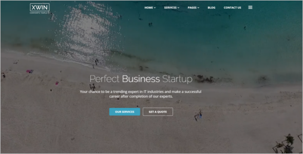 Corporate Business HTML5 Template