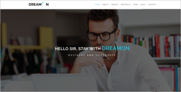 Corporate Company HTML5 Template