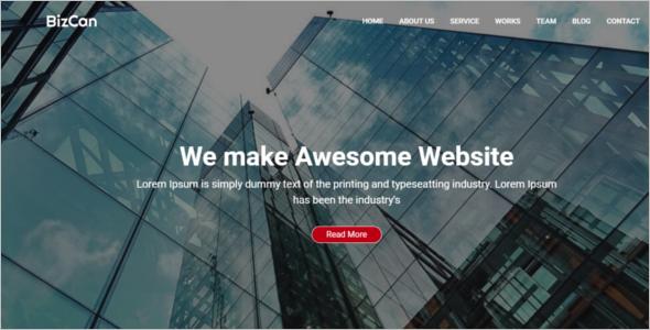 Corporate HTML5 Template