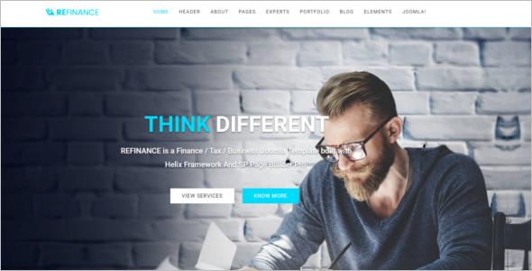 Corporate Joomla Website Template