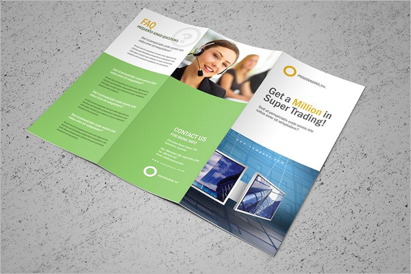Corporate Leaflet Design Template