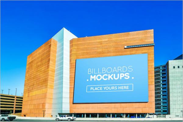 CorporateOutdoor Mockup Design