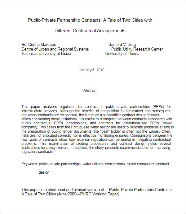 CorporatePartnership Agreement Template