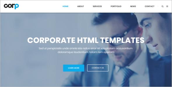 Corporate Service HTML5 Template