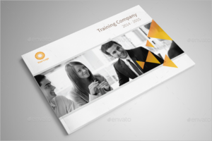 Corporate Training Brochure Template