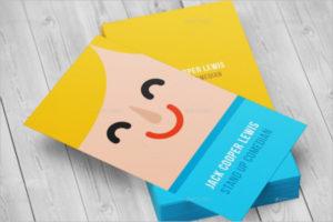 Corporate Visiting Card Mockup Template