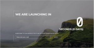 Countdown Coming Soon HTML Template