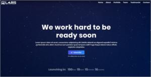 Creative Agency Coming Soon HTML Theme