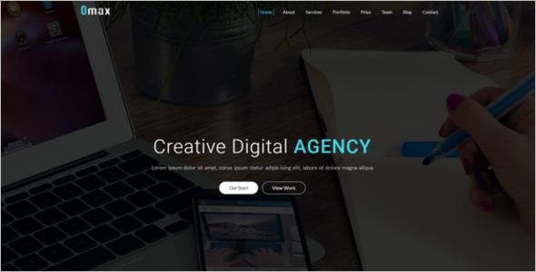 Creative Agency Website Template