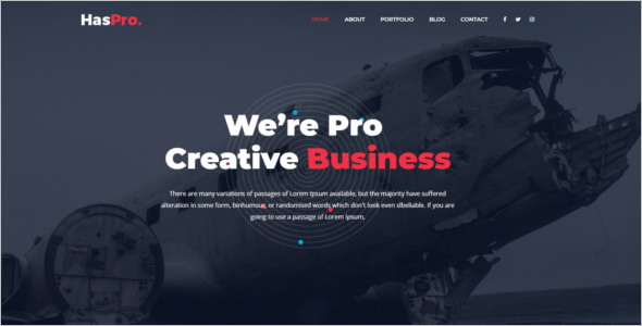 Creative Business HTML5 Template