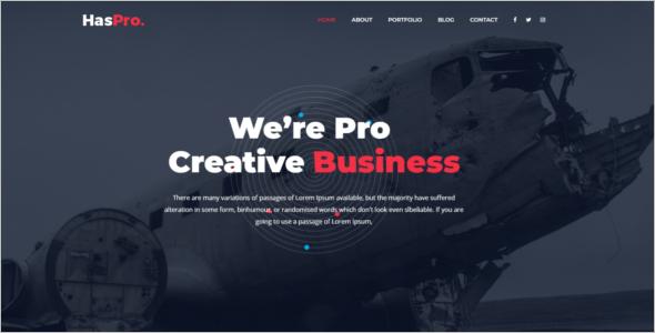 Creative Business HTML5 Template