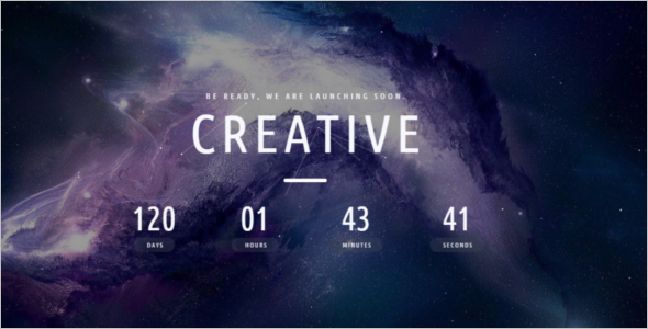 Creative Video HTML5 Template