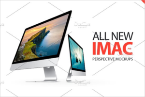 Creative iMac Mockup Template