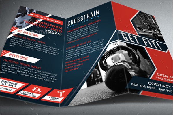 Cross Training Brochure Template