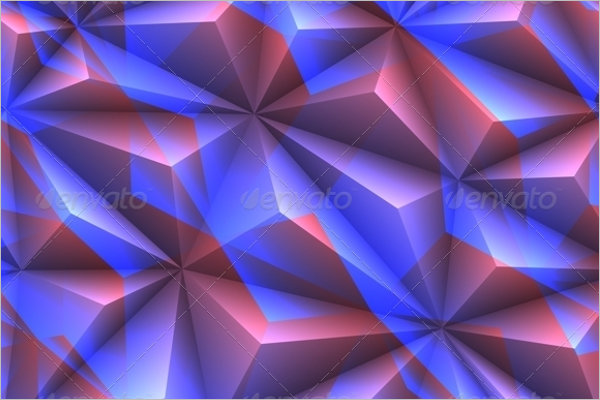 Crystal Abstract Texture Design