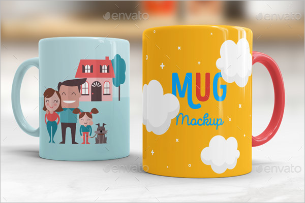 Cup Mock Up PSD