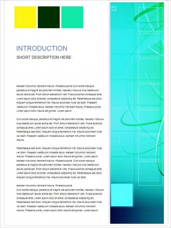 Custom Business Report Template PDF