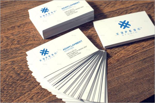 CustomizableVisiting Cards Mockup Template