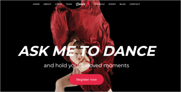 Dance Joomla Template