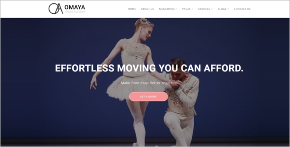 Dancing School HTML5 Template