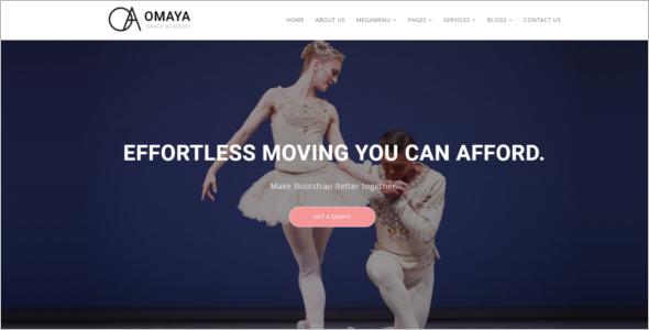 Dancing School HTML5 Template