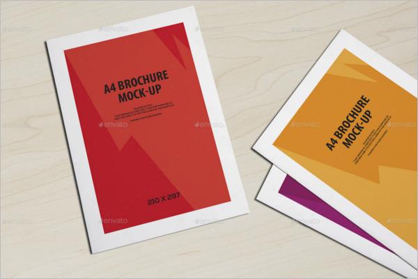 Design For Leaflet Mockup