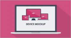 73+ Device Mockup PSD Templates