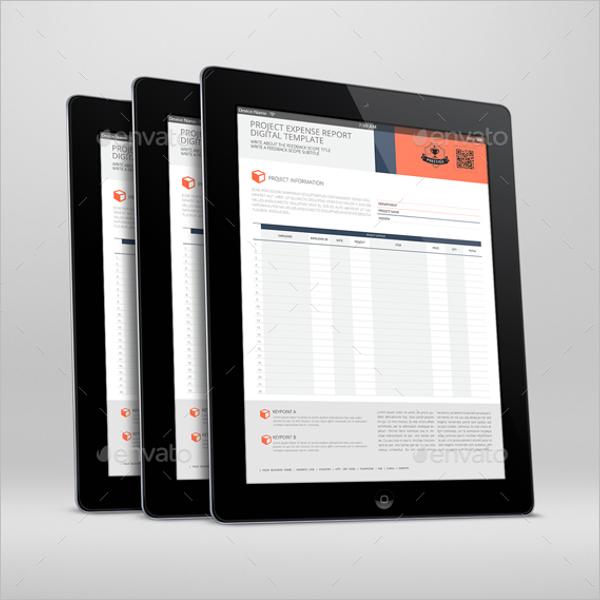 Digital Project Report Template