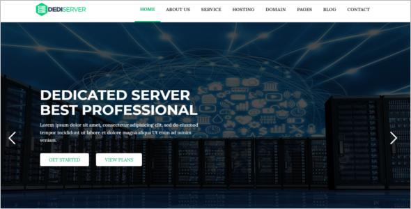 Domain Hosting HTML5 Template