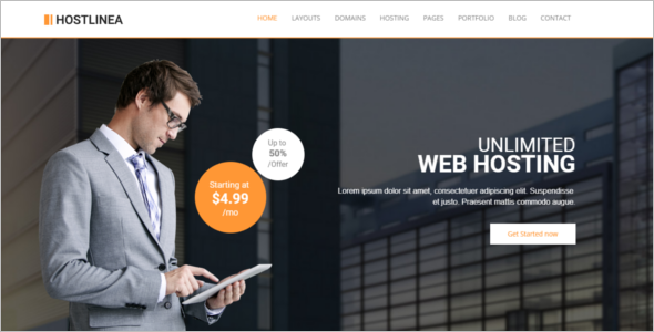 Domain Technology HTML5 Template