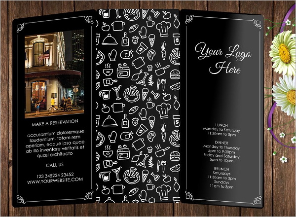 Drink Menu Photoshop