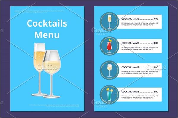DrinkMenu Prices List