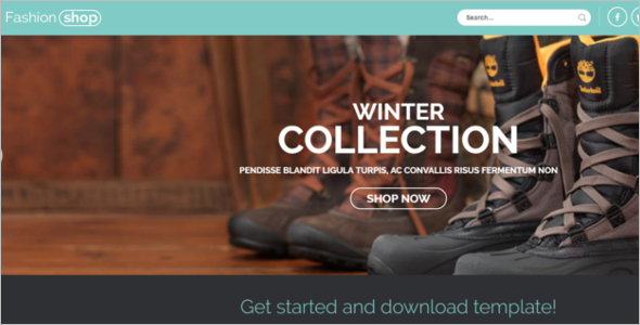 E-commerce Joomla responsive template