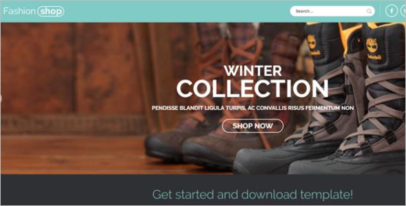 E-commerce Joomla responsive template